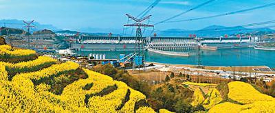 三峡工程远景