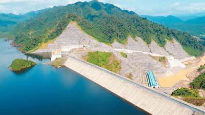 中方参与建设的马来西亚巴贡水电站